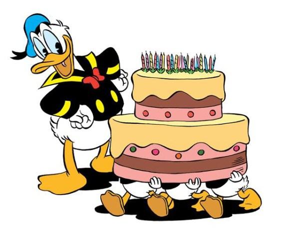 Donald Duck Torte