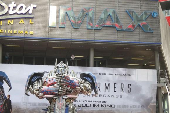 Transformers 4 Europapremiere - Szenenbild 10