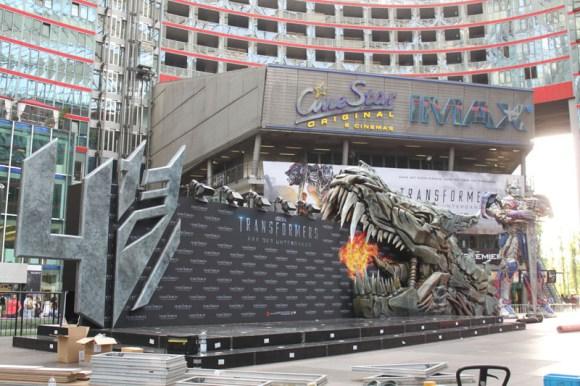 Transformers 4 Europapremiere - Szenenbild 13