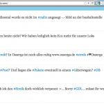 Beispiel Tweetwally