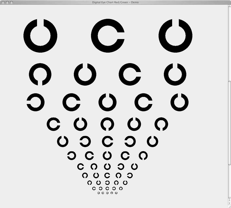 Digital Eye Chart.com- What is it?