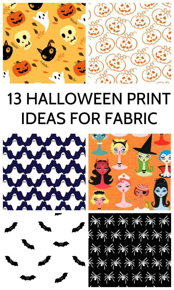 13 Halloween Prints Ideas For Fabric Digital Fabrics Sydney
