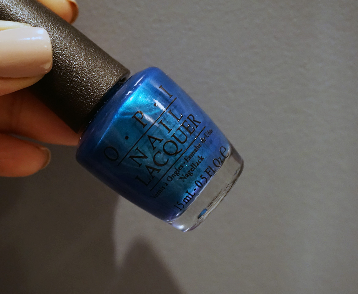 Into The Blues - Favourite Go To Dark Blue OPI Polishes