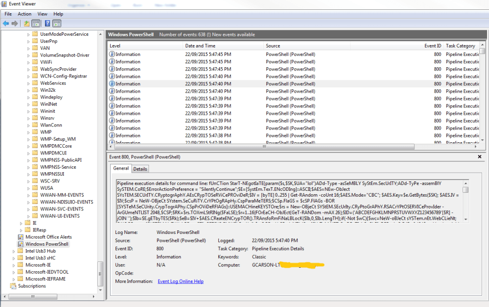 Windows Events log for IR/Forensics | Digital Forensics | Computer