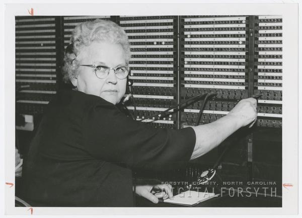 Switchboard Operator, Mrs. Ruth Kiger
