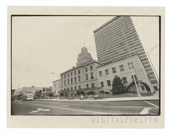 Forsyth County Courthouse.