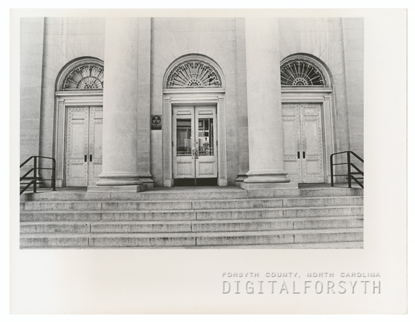 Post Office on West Fifth Street, 1974.