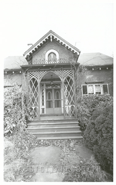 Julius A. Leinbach, or 'Starmaker' House on South Church Street to be demolished, 1961.