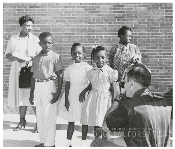 Integration at Easton Elementary School, 1958.