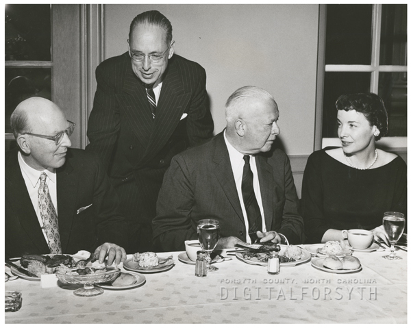 Meeting of Wake Forest College trustees, 1956.