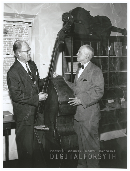 Thor Johnson and his father, Rev. Herbert B. Johnson of Mt. Airy.