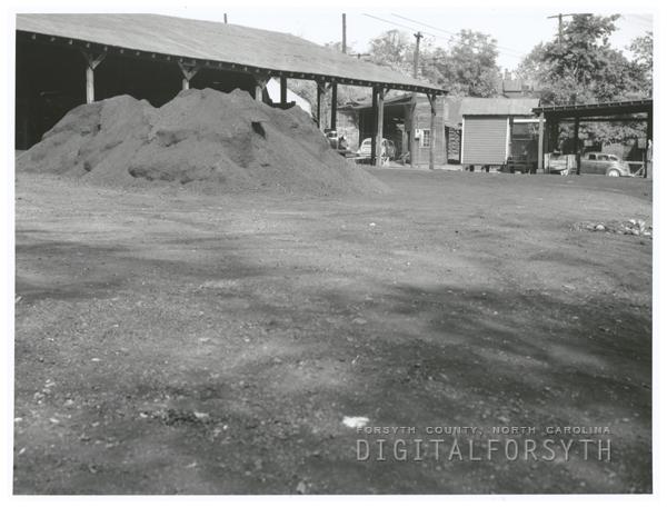 Empty coal yards, 1949.