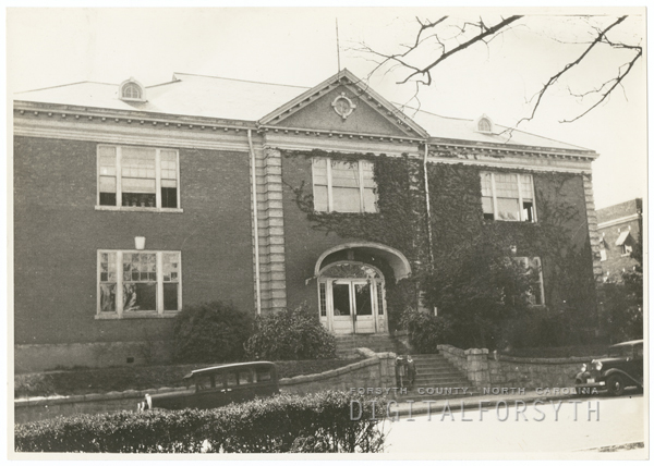 West End Primary School, located on Broad Street near West Fourth Street.