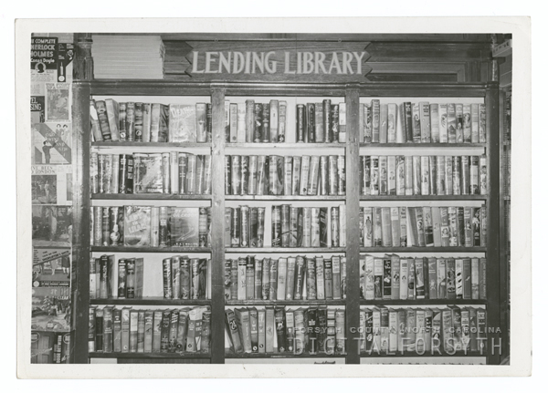 Carnegie Library's rental book collection.