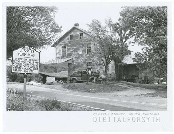 Bethania General Store, 1968.