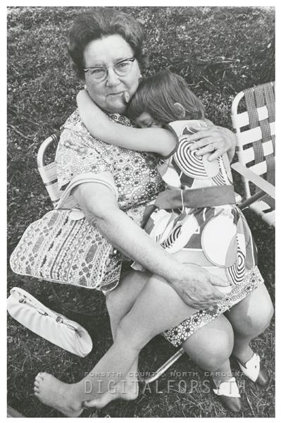 Shore family picnic, 1971.