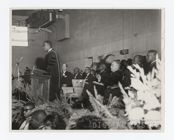 Inauguration of Dr. Kenneth R. Williams