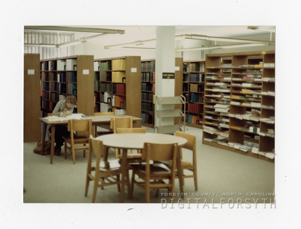Student Studying in O'Kelly Library