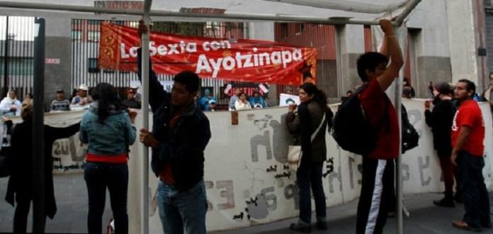 planton_sre_ayotzinapa