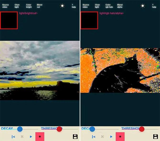 glitch art apps iphone - Luminancer
