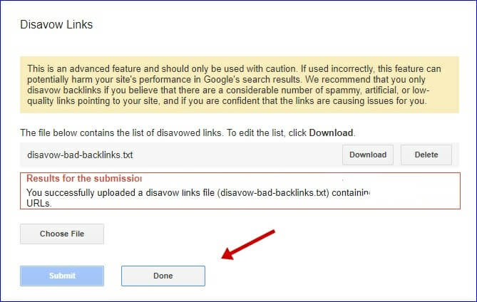 Submit-Bad-Backlinks-list-to-Google-Disavow