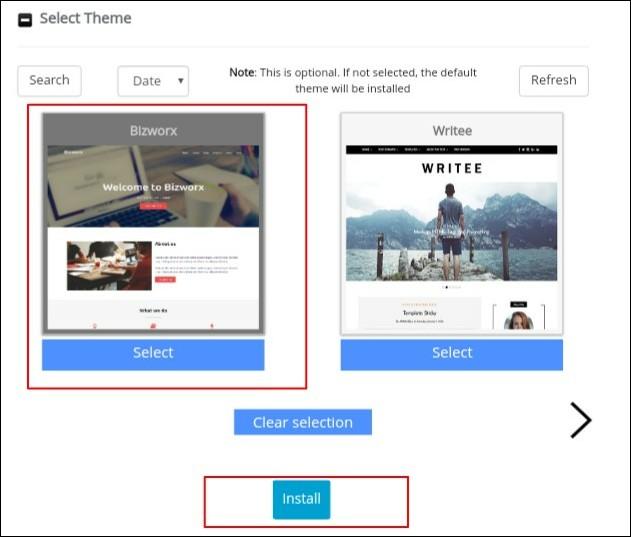 Select Themes