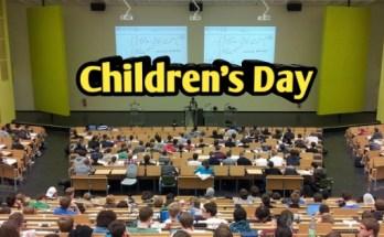 Children's Day Details