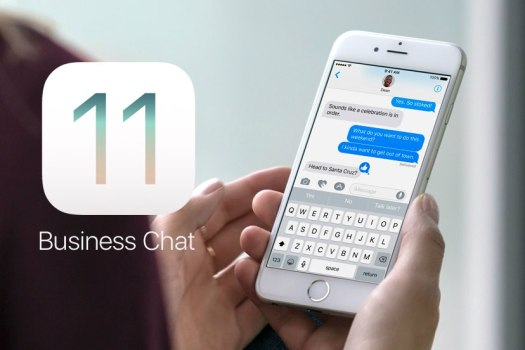 iOS 11 Business chat di Apple imessage