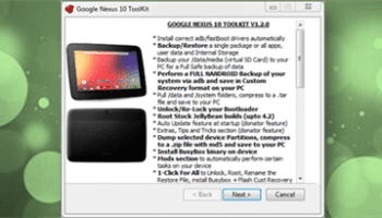 "Google Nexus 4 Toolkit V1 1 0 permite obtener ""root"