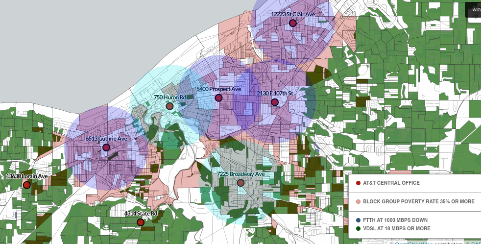 ATTs Digital Redlining Of Cleveland National Digital Inclusion