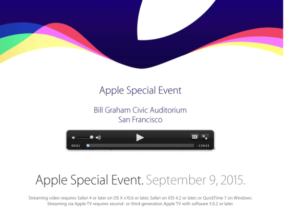 apple event video