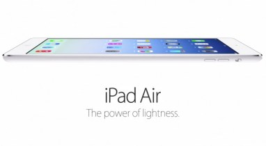 ipad air light