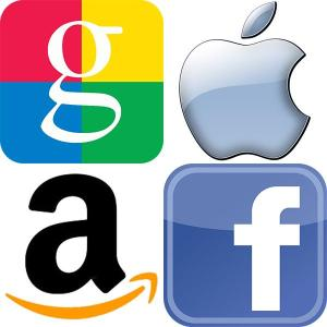 google, facebook, apple, amazon