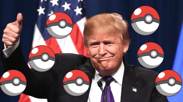 trump and pokemon