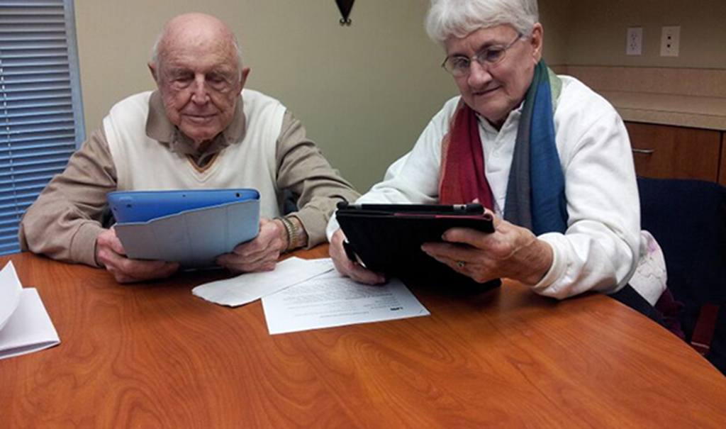 tech and elderly