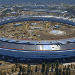 Apple Park close to completion – drone footage