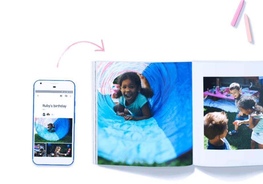 google photo book example