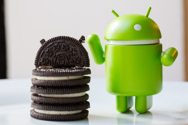 oreo and android