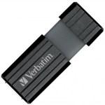 Chiavetta USB  Verbatim 16GB PinStripe -  Colore Nero - 16Gb
