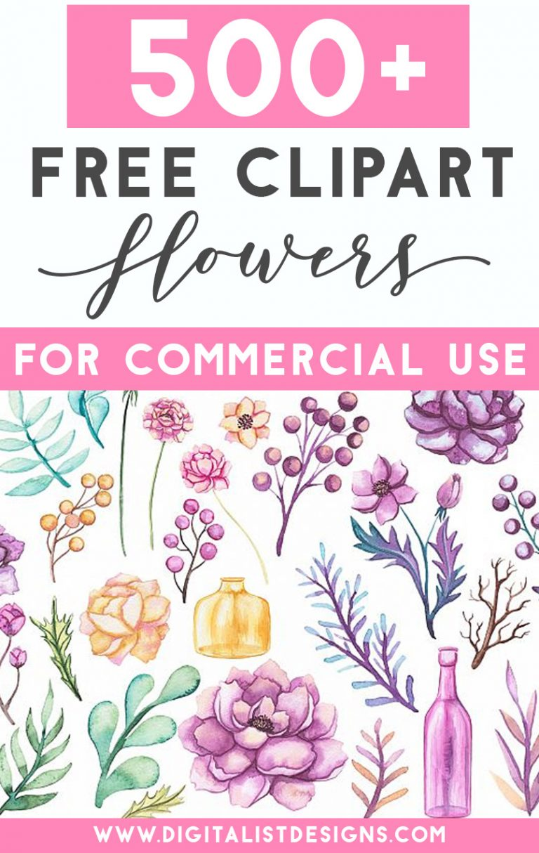 medium resolution of 500 free flower clipart images