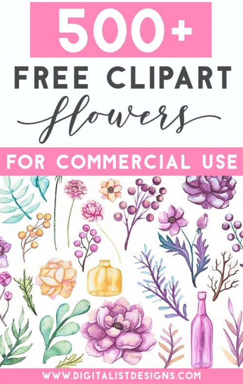 small resolution of 500 free flower clipart images