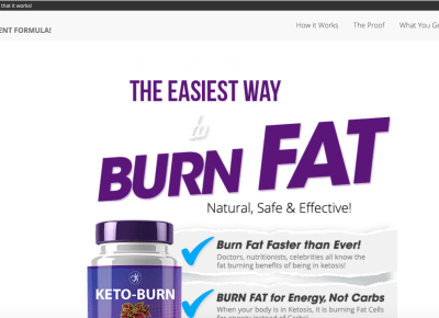 Keto Nutra Offer Burn Fat