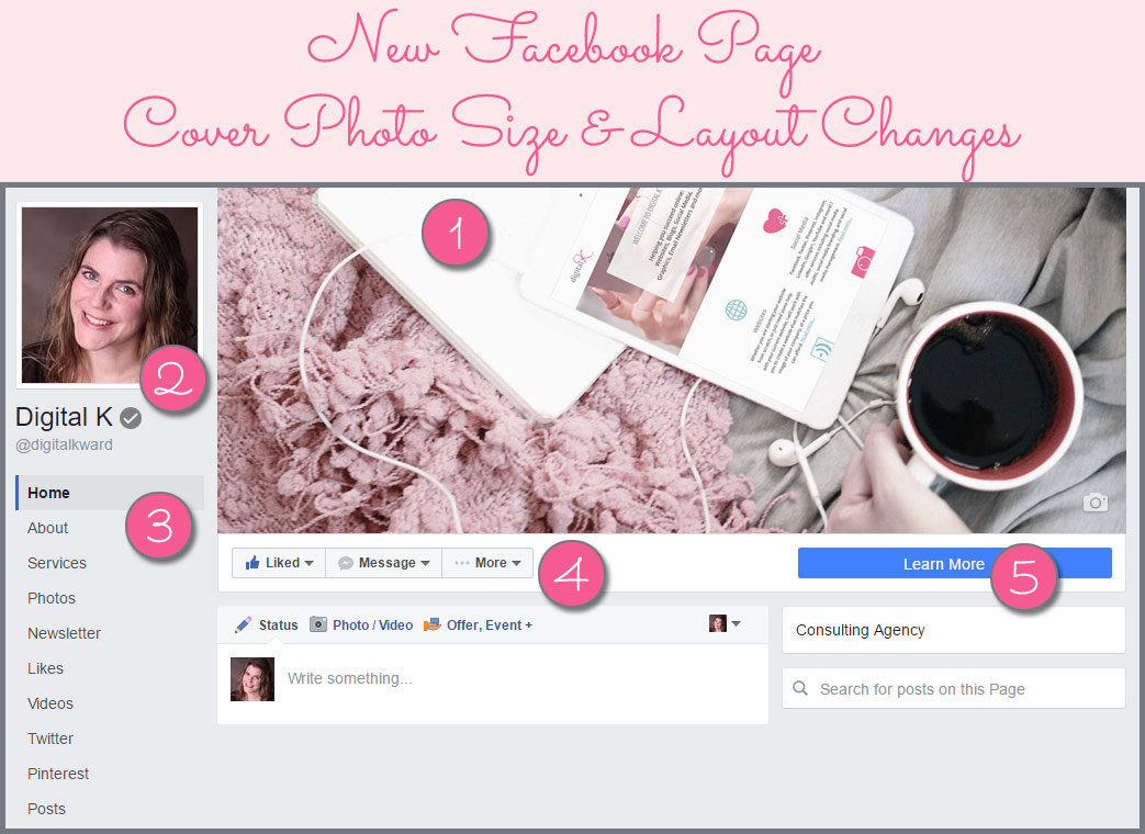 Designing Your Facebook Page Cover Photo To Look Great On Desktops And  Mobile - With The