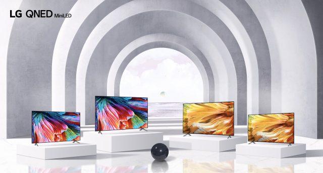 lg qned mini led tv lineup