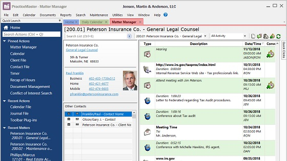 37 PracticeMaster legal and law firm practice and case management software review