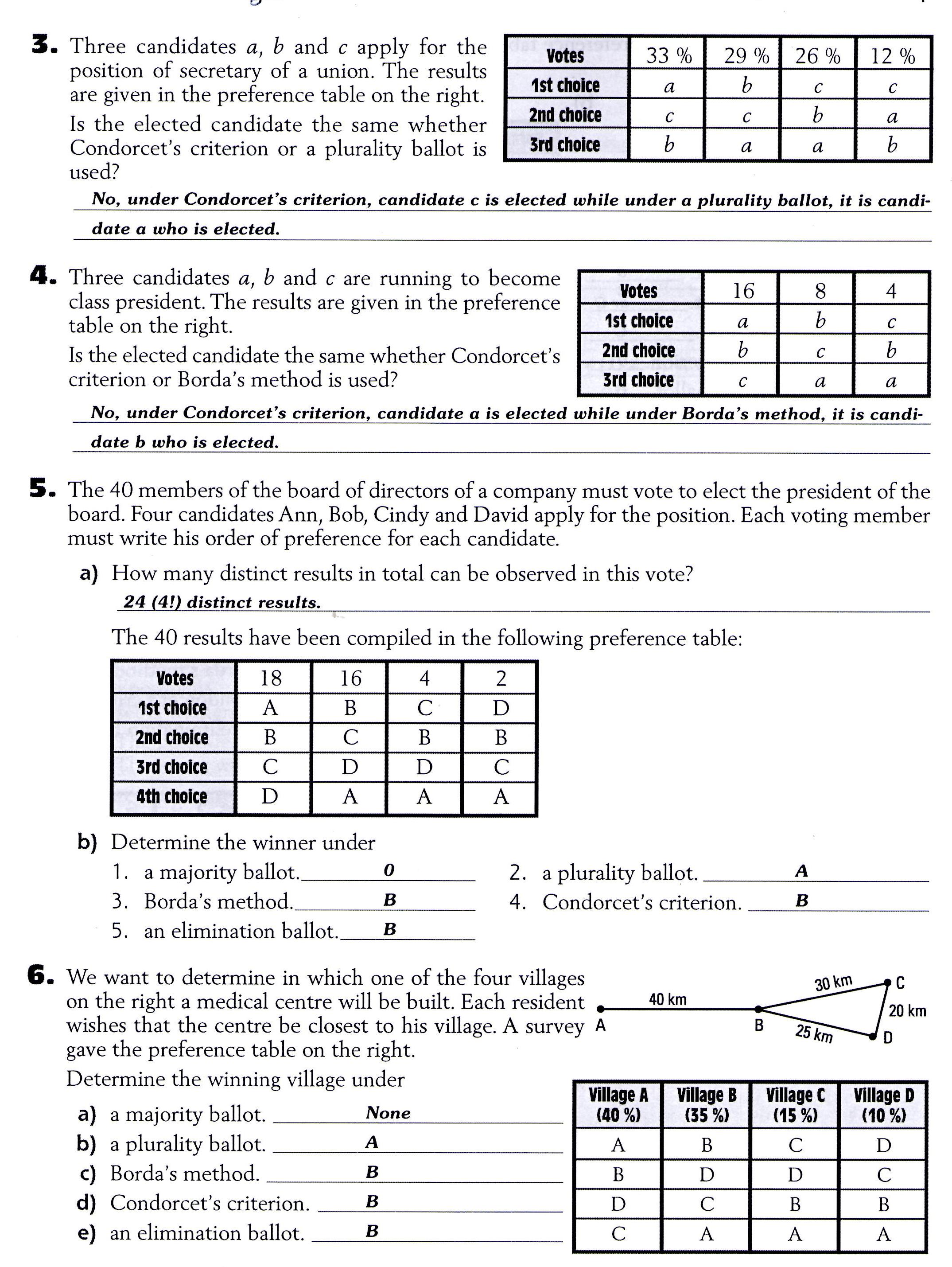 Printable 8th Grade Math Worksheets