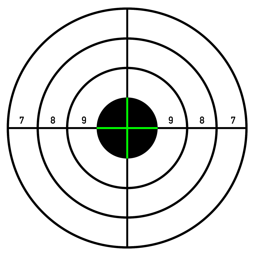Printable Shooting Targets for Pistol, Rifle, Airgun, Archery