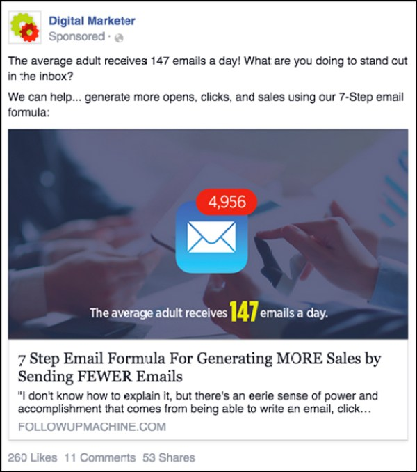 A Facebook Newsfeed Ad to Perpetual Product Launch