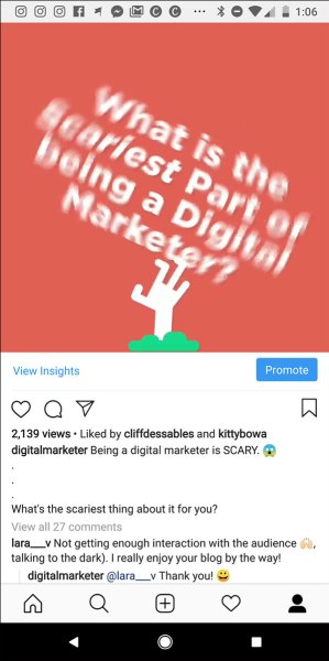 An example of a Just for Fun  14 Digital Marketing Experts Share Their Marketing Home Run of 2018 digital marketing home run img30