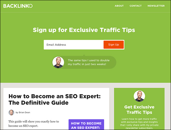 Backlinko Marketing Blog